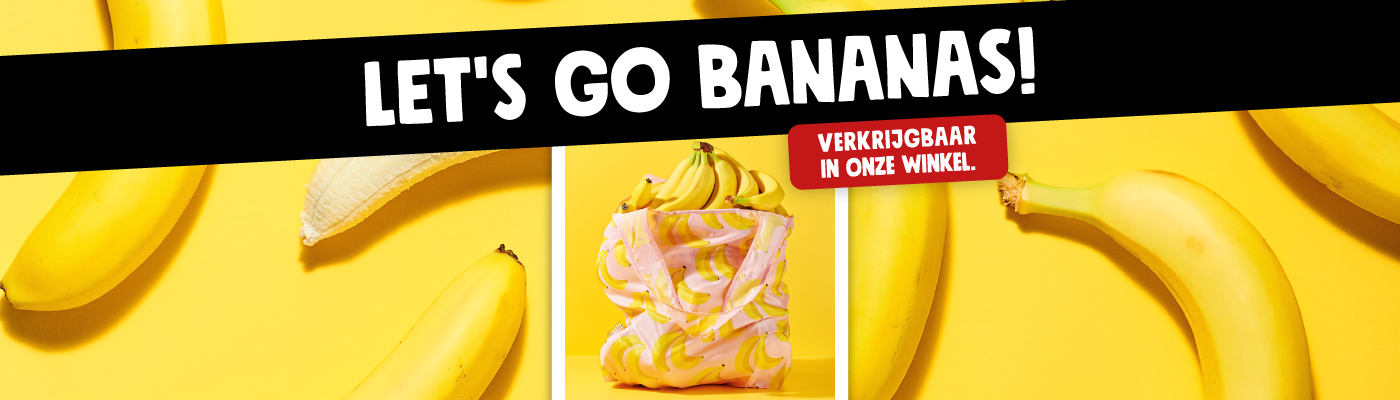 Gerecycled bananentasje