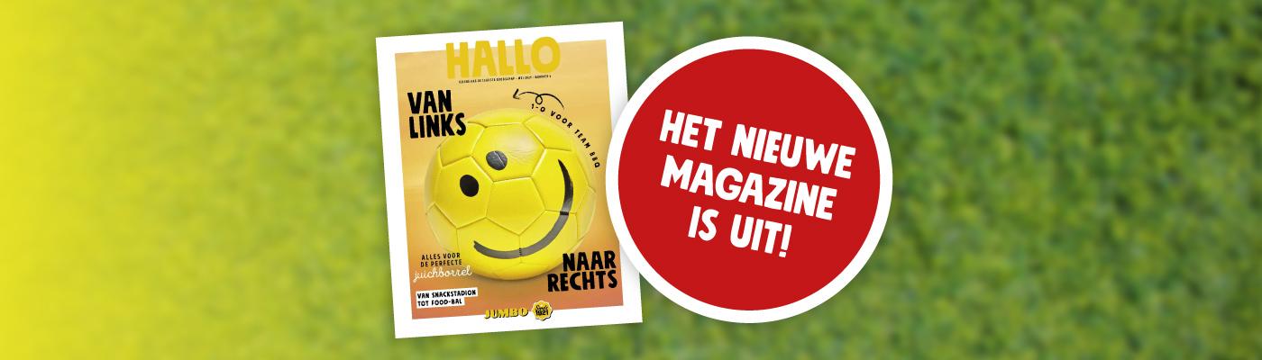 Nieuw Hallo Jumbo Magazine