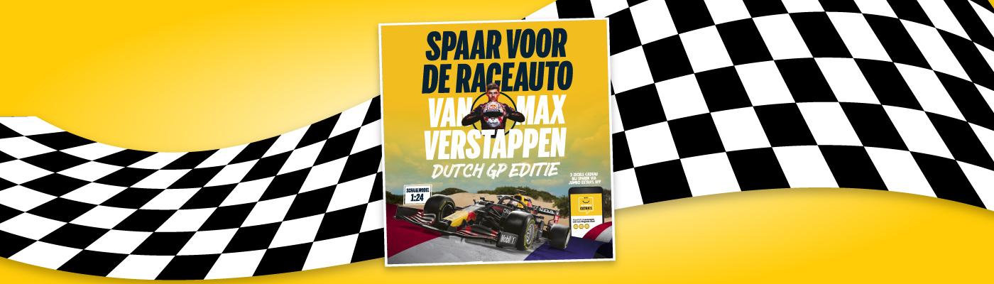 De raceauto van Max is terug!
